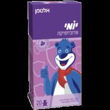Пробиотик для детей со вкусом клубники Yomi 20 мишек, Altman Yomi Probiotic FOS 20 bears