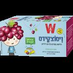 Чай детский с виноградом Wissotzky Children's tea with grapes Wissotzky 20 пак