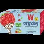 Чай детский с малиной Wissotzky Children's tea with raspberries Wissotzky 20 пак.