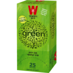 Зеленый чай классический Wissotzky Classical Chinese green tea Wissotzky 25 пак*1.5 гр