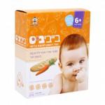 Печенье из рисовой муки для детей от 6 месяцев  морковь 24 шт
