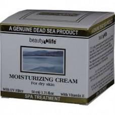 Увлажняющий дневной крем с минералами для нормальной и жирной кожи, Beauty Life FaceTreatment Minerals Moisturizing Cream for Normal to Oily skin 50 ml