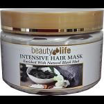 Лечебно-грязевая маска для волос и корней волос, Beauty Life Intensive Hair Mask Black Mud 250 ml