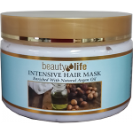 Восстанавливающая маска для волос с маслом арганы, Beauty Life Intensive Hair Mask With Argan Oil 250 ml
