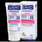 Детский солнцезащитный крем для лица Dr. Fischer Ultrasol Baby Face Cream SPF 32 50 мл