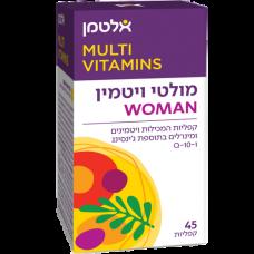 Мультивитамины для женщин, Multi Vit For Woman Altman 45 табл