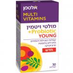 Мультивитамины для подростков с пробиотиками, Multi Vitamin Probiotic Young Altman 30 tablets