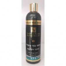Шампунь с грязью Мертвого моря для лечения волос и кожи головы, Health&Beauty Treatment Mud Shampoo for Hair and Scalp 400 ml