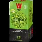 Зеленый чай с бергамотом Wissotzky Earl Grey Green Tea Wissotzky 25 пак*1.5 гр
