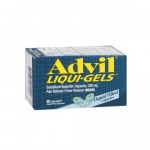 Адвил ибупрофен взрослый в гелевых капсулах 200 мг, Advil Ibuprofen For Adults 200mg 80 gel capsules
