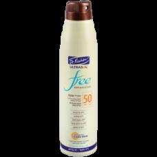 Солнцезащитный спрей продолжительного действия, Dr Fischer Ultrasol Free Continuous Spray Lotion SPF 50 200 ml