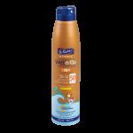 Легкий водостойкий солнцезащитный спрей для детей, Dr. Fischer Ultrasol Kids Wet'nGo SPF 50 200 ml