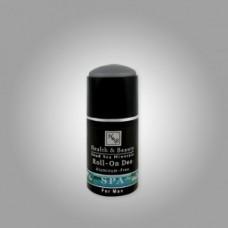Мужской шариковый дезодорант без алюминия, Health&Beauty Roll On Deodorant Aluminum Free for men 80 ml