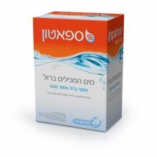 Спатон натуральная вода обогащенная железом, Spatone liquid iron supplement 28 саше