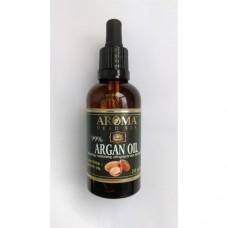 Марокканское (аргановое) орагническое масло для волос, Aroma Dead Sea Argan Organic Oil Hair 60 ml