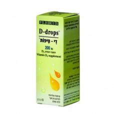 Витамин Д3 в каплях для детей 200 IU, Floris Vitamin D3 200 IU 10 ml