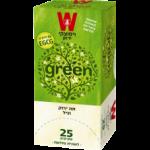Зеленый чай с бергамотом Wissotzky Earl Grey Green Tea Wissotzky 25 пак*1.5 гр, чай высоцкий, чай из израиля