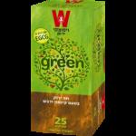 Зеленый чай с корицей и медом Wissotzky Green tea cinnamon and honey Wissotzky 25 пак*1.5 гр