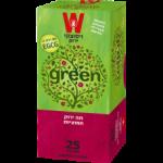 Зеленый чай с клюквой Wissotzky Green tea cranberry Wissotzky 25 пак*1.5 гр