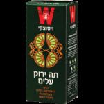 Зеленый чай листовой Green tea leaves Wissotzky 125 гр