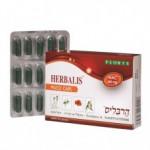 Капсулы с содержанием ацетилцистеина (NAC), экстракта эвкалипта и тимьяна, Floris Herbalis Muco Caps 15 капсул