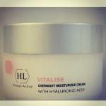 Holy Land Vitalise Overnight Moisturizer Cream with Hyaluronic Acid - Ночной крем с Гиалуроновой кислотой 250 мл