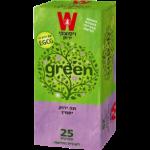 Зеленый чай с жасмином Wissotzky Jasmine green tea Wissotzky 25 пак*1.5 гр