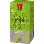 Зеленый чай с жасмином и лемонграссом Wissotzky Green tea with lemongrass and jasmine Wissotzky 25 пак*1.5 гр
