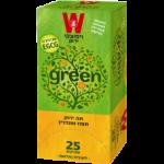 Зеленый чай мандарин-апельсин Wissotzky Mandarin Orange Green Tea Wissotzky 25 пак*1.5 гр