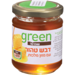 """Органический мед с добавлением маточного молочка Грин, Organic Honey with royal jelly """"Green"""" 250 gr"""