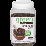 Органические семена чиа Грин, Organic Chia seeds Green 300 gr
