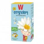 Чай детский с ромашкой и медом Wissotzky Children's tea Chamomile and Honey 20 пакетиков