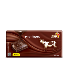 Горький шоколад без содержания молока Элит Dark chokolate Elite Parve 100г