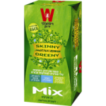 Зеленый чай микс со стевией Wissotzky Skinny Greeny green tea Wissotzky 25 пак*1.5 гр