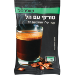 Кофе молотый с кардамоном Суперсаль Turkish coffee with cardamom Shufersal 100 гр